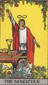 Magician Tart card