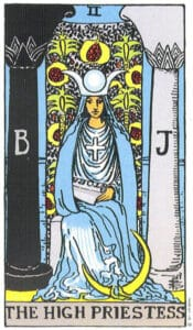 high priestess tarot card interpreation