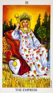 The Empress Tarot Card meaning and interpretation