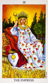The Empress Tarot Card meaning and interpretation