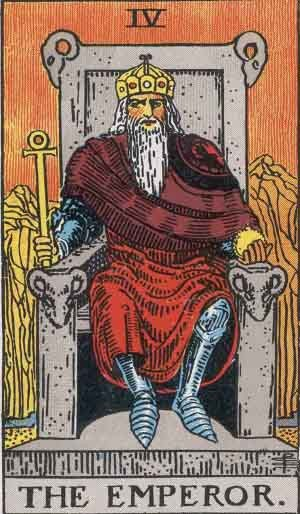 emperor tarot card reading