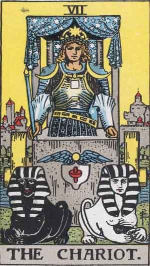 THE CHARIOT Tarot Card Meaning and Interpretation