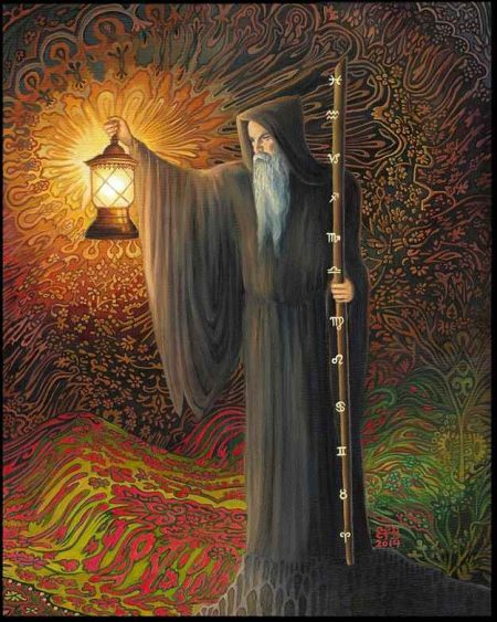 THE HERMIT Tarot Card Meaning and Interpretation